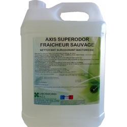 Nettoyant bactéricide multisurfaces fraîcheur sauvage Axis Superodor à diluer 5L