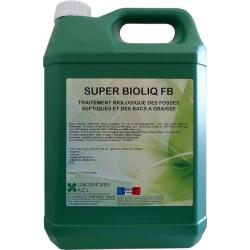 Traitement biologique des fosses septiques et bacs à graisse Super Bioliq FB à diluer 5L