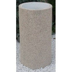 Cendrier Kumquat gravillon lavé diam. 37xH70 cm