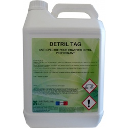 Décapant graffiti ultra performant Detril TAG 5L
