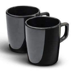 Mug compact Canella noir 150 ml