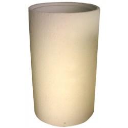 Cendrier béton Kumquat ton sable diamètre 37 cm