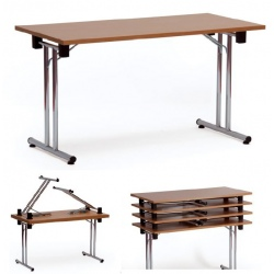Table pliante empilable Como 160x80 cm