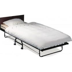 Lit pliant grand confort avec matelas 210x90 cm