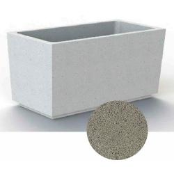 Jardinière en béton Iconic gris 120 x 60 x H60 cm