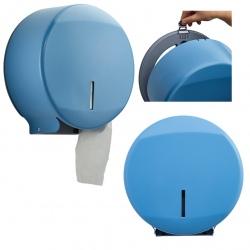 Distributeur papier hygiénique Design 200 m inox bleu 5024