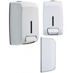 Distributeur de savon Design inox blanc 9016 1,1 l