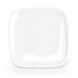 Assiette plate carrée Mexique en porcelaine 11,5 x 11,5 x H1,5 cm