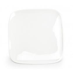 Assiette plate carrée Mexique en porcelaine 17 x 17 x H1,9 cm