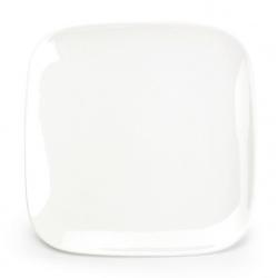 Assiette creuse carrée Mexique en porcelaine 24 x 24 x H2,2 cm