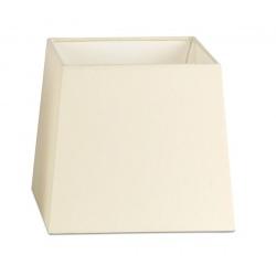 Abat-jour en textile beige L19xH17 cm