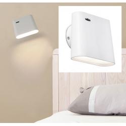 Lampe applique Auréa blanche