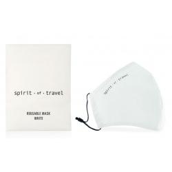 Lot de 100 masques réutilisables blanc en Stone Paper Sachet