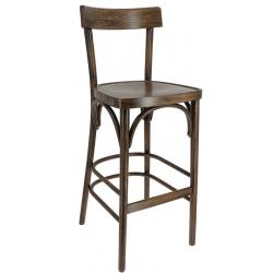 Chaise haute Andel hêtre cérusé foncé