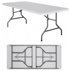 Table pliante polyéthylène Nîmes L198 x P90 x H74 cm