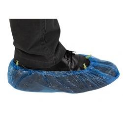 Sachet de 100 sur-chaussures PE pour distributeur automatique