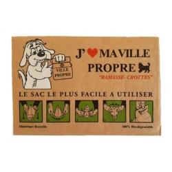 Lot de 720 sacs canins papier cartonné biodégradable
