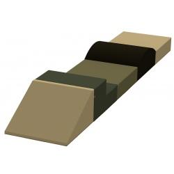 Motricité en ligne 5 modules ZEN H 40 cm