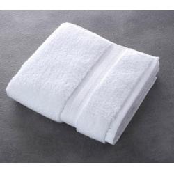 Serviette de toilette Riviera 100% coton blanc 500 g 50x100 cm (le lot de 10)