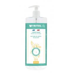 Lot de 12 Wyritol crème hydroalcoolique Monoi Jasmin 500 ml