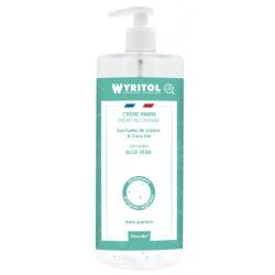 Lot de 12 Wyritol crème hydroalcoolique sans parfum  Aloe Vera 500 ml