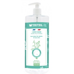 Lot de 12 Wyritol crème hydroalcoolique Bambou Muscs Blancs 500 ml