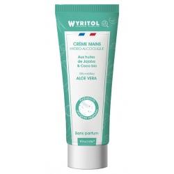 Lot de 12 Wyritol crème hydroalcoolique sans parfum Aloe Vera 75 ml