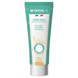 Lot de 12 Wyritol crème hydroalcoolique Monoi Jasmin 75 ml