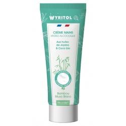 Lot de 12 Wyritol crème hydroalcoolique Bambou Muscs Blancs 75 ml