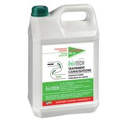 Lot de 4 Action Verte Biotech traitement canalisations 5L