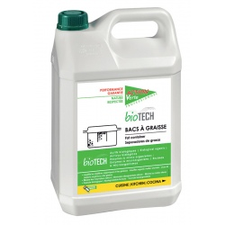 Lot de 4 Action Verte Biotech traitement bac à graisse 5L