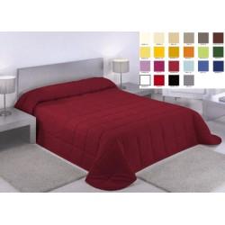 Lot de 10 couvre lits matelassé Carla 180x260 cm dessous blanc ouatinage 150gr m2