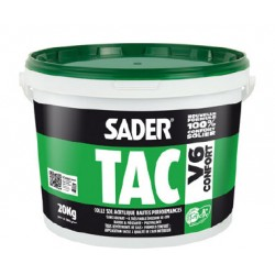 Colle Sader tac V6 confort (pot de 20 kg) pour plaqué murale