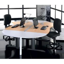Bureau Office plan 135° L180 à gauche