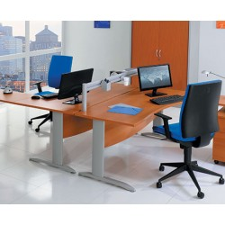 Bureau Office double vague 180 cm