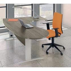 Bureau Office manager 200 cm retour à droite