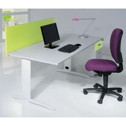 Bureau Office rectangulaire L120 cm