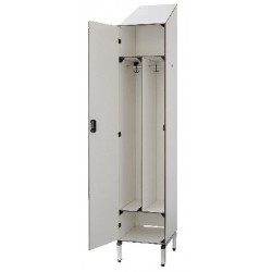 Vestiaire stratifié industrie salissante 1 cases L40xP50,5xH192 cm