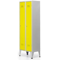 Vestiaire Eco industrie salissante 3 cases L135xP50xh190 cm