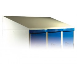 Coiffe H20xP50 cm pour vestiaires Eco et Top L90 cm