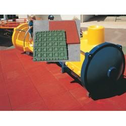 Dalles de sécurité 50x50 cm ép 55 mm HIC 1,60 m (prix au m2)