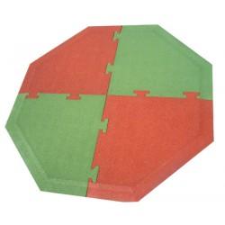 Kit dalle de sécurité hexagonal pour jeux à ressort (7,45 m²)