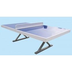 Table de ping pong anti-vandalisme fibre et acier