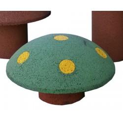 Champignon jeu en caoutchouc recyclé H27 cm