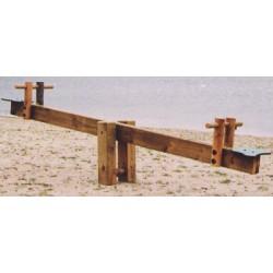 Balançoire à bascule 2 places L200 cm
