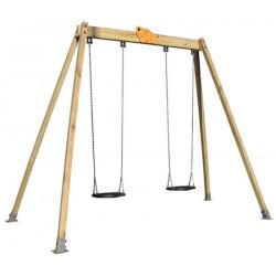 Balançoire des petits L3,20xh 2,60 m (1 à 6 ans)