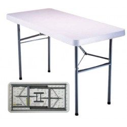 Table pliante polyéthylène Optimum 122x60 cm