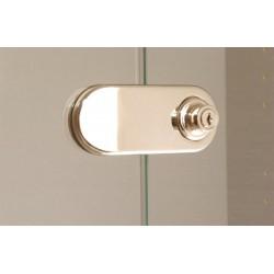 Option serrure pour portes vitrées armoire manager