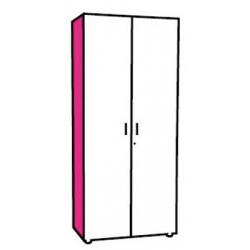 Option joue de finition couleur pour armoires manager H180 cm