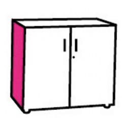 Option joue de finition de couleur pour armoire manager H72 cm